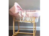 Moses basket(Never Used)