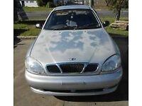 DAEWOO LANOS: IDEAL 1ST CAR NEW MOT, NEW TIRES, NEVER LET ME DOWN.