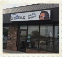 Geek4Cheap Computer Repair ★ Slow? Pop-Up's? ★ STORE OPEN