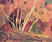 "Limited Edition ""Autumn Birches"" by Tom Thomson"