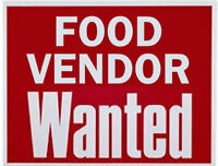 Food Vendors Wanted for Event