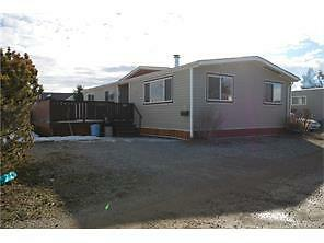 Double wide manufactured home.