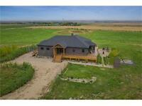 Full Quarter Section Acreage by Airdrie! (271120 Rge RD 284
