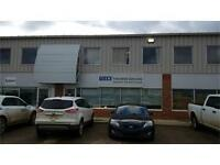Commercial space with office, mezzanine & warehouse