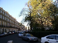 Central London Studio flat short summer rental available upto 1 October, minimum month, unfurnished