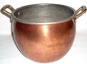 copper pot ebay. Black Bedroom Furniture Sets. Home Design Ideas
