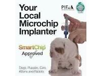 Experienced qualified microchipping service