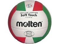 A Molten Volleyball Ball
