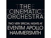 2 x Cinematic Orchestra tickets - London Apollo 11th Nov 16