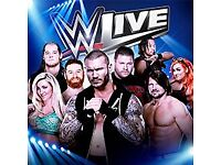 WWE Smackdown Live Ticket Manchester Front Row Ringside Package - Section A/Row A
