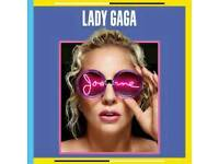2 lady gaga tickets manchester amazing seats 103