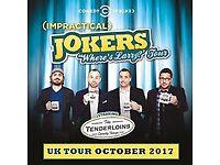IMPRACTICAL JOKERS UK TOUR OCTOBER 2017