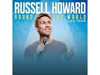 Russell Howard: x2 7th Row Tickets, Newcastle