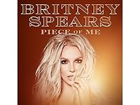 Britney Spears Tickets - O2 Arena - 26th August