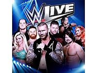 SMACKDOWN Live WWE 2 tickets front of wrestling Ring Manchester Arena