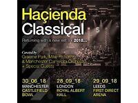 Hacienda Classical Royal Albert Hall Loggia Box Seat Tickets 28th Sept