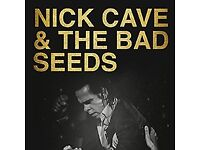 Nick Cave tickets for Manchester Arena, Standing x 2