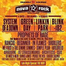 2 x Tickets for NOVA ROCK Festival