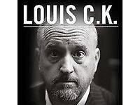 1 ticket to Louis C.K. Friday 12th August 8pm!