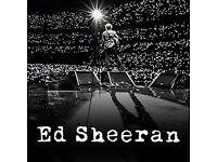Ed Sheeran Wembley 17th June tickets at £125 each