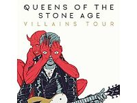 2 tickets for Queens of the Stone Age at The SSE Arena, Wembley (18th november)