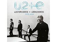 x2 U2 Tickets 27th October 2018 Belfast!!