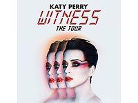 6 x Katy Perry tickets, O2 London Thursday 14 June 6.30pm