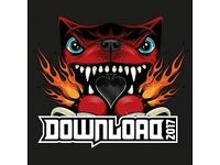 Download Festival - £40 entry Friday, Saturday or Sunday.