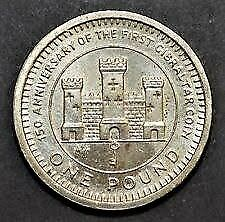 2002 - CASTLE AND KEY – Gibraltar - One Pound Coin