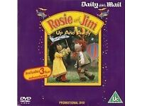 Rosie & Jim dvd DVD Promo The Daily Mail Childrens Up And Away & Other Stories