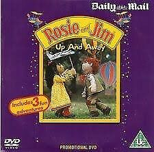 Rosie & Jim DVD Promo The Daily Mail Childrens Up And Away & Other Stories Rare