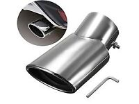 Chrome exhaust tips new