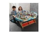 Kids cars 3 table and car set