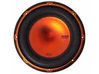 "edge 12"" subwoofer high power dual voice coil new in box"