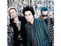 2 Greenday tickets for Belfast on Wednesday 28th June - prices as on ticket - £53 per ticket