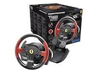 Thrustmaster T150 Ferrari Force Feedback Wheel (PS4/PS3/PC DVD)