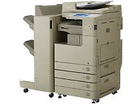 Canon IR C5030 Advanced, A3 A4 colour B/W photocopier printer scanner. with staple finisher