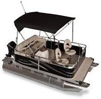 ALL NEW COMPACT LUXURY PONTOONS FOR WESTERN CANADA