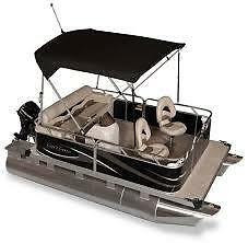 COMPACT LUXURY PONTOONS FOR WESTERN CANADA !