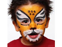Face Painter for Childrens Parties available for a donation of your choice :)