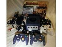 Wanted -- GameCube(console,games and accesories)