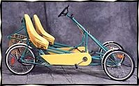 Little deuce coupe bicycle