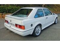 Ford escort rs turbo rear bumper
