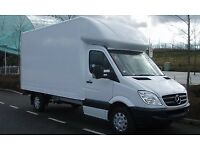 24/7 LUTON VAN TRANSIT VANS 7.5 TONNE LORRY AND TRUCK HIRE WITH A MAN TRANSPORT SERVICE MOVER DRIVER