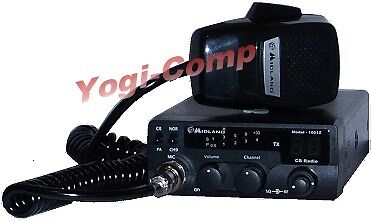 Midland 1001Z 40 Channel 4W 4 Watt Mobile CB Radio on Rummage