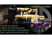 Unlock All camos DM ULTRA call of duty store weapons guns warzone ColdWar Modern warfare