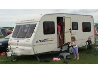 Bailey Discovery 400 5 berth Caravan