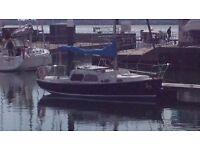 Coronado 25 sailing cruiser