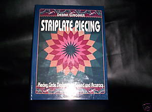Quilt Book - Striplate Piecing - Debra Wagner
