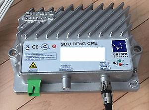 Aurora Networks CP8013U CP8013U-02-00 SDU RFoG CPE Transmitter